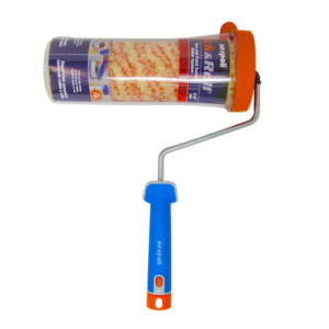 Nespoli Click and Roll Time-Saving Paint Roller with Freshbox Malerstreif 3/4in Pile