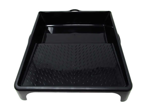 Nespoli Black Paint Roller Tray 13×14 inches, 32 x 35 cm, PP Plastic Recycled