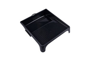 Nespoli Black Paint Roller Tray 13x14 inches, 32 x 35 cm, PP Plastic Recycled